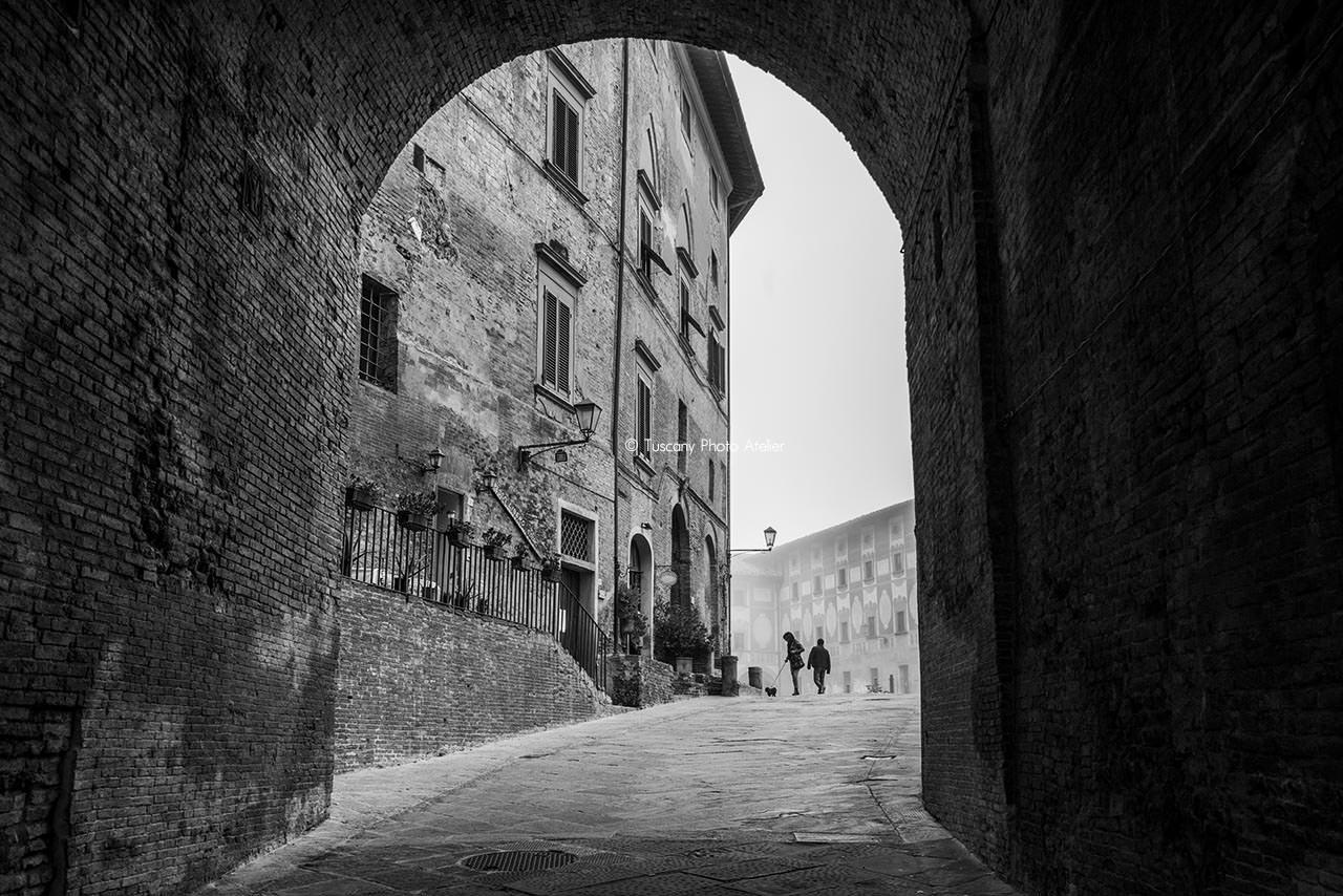 Visita guidata Porta Topparorum, Piazza della Repubblica a San Miniato