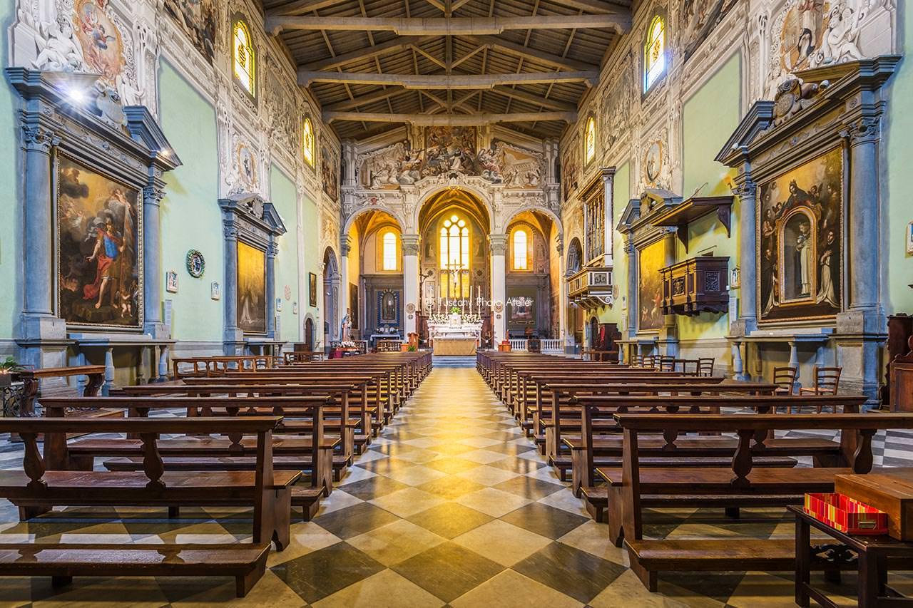 Visita guidata chiesa di San Domenico a San Miniato, Pisa, Toscana