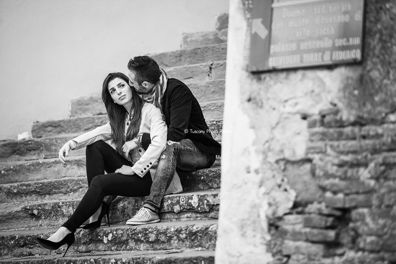 Servizio fotografico per innamorati a San Miniato