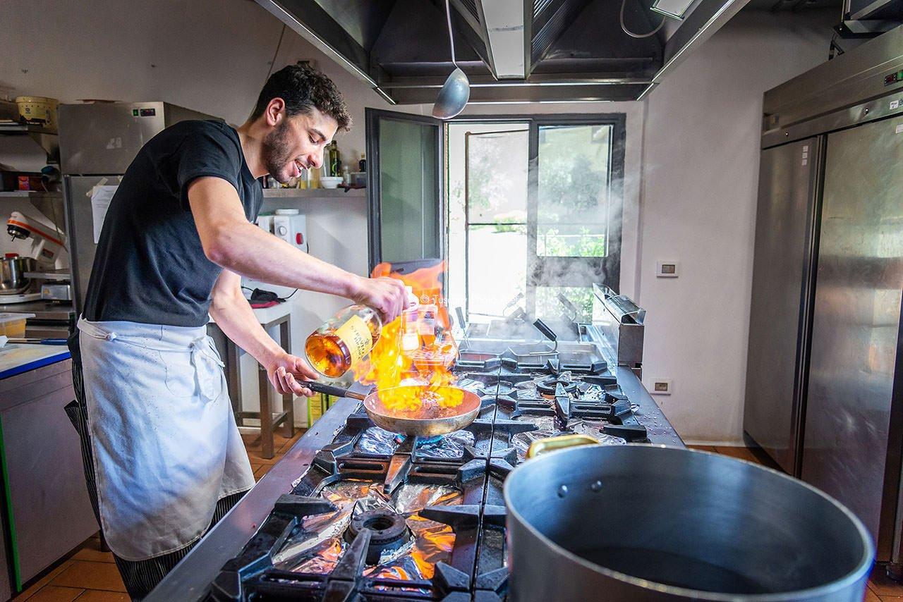 Servizio fotografico per ristoranti a San Miniato