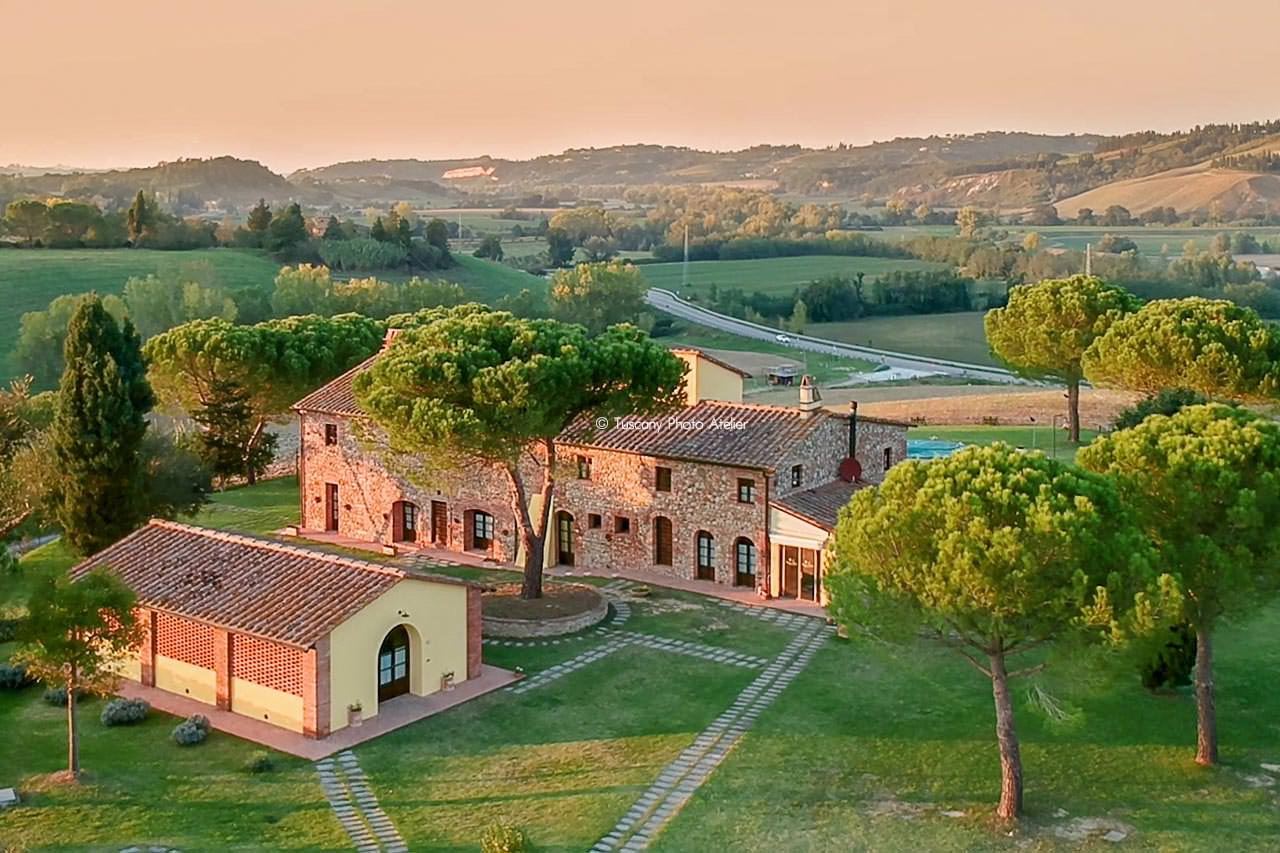 Interior photo shoot for villas in San Miniato