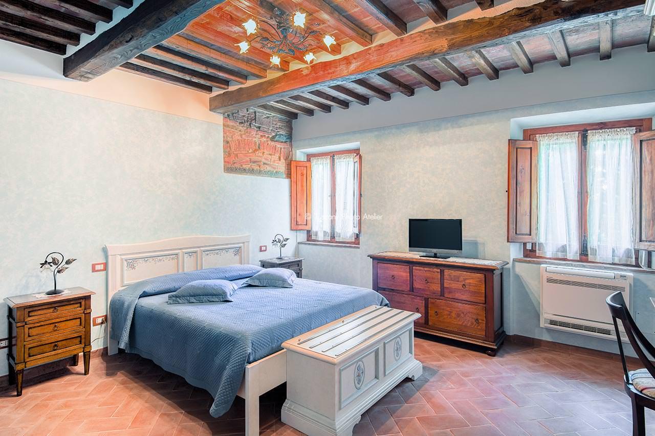 Interno camere Villa di Moriolo