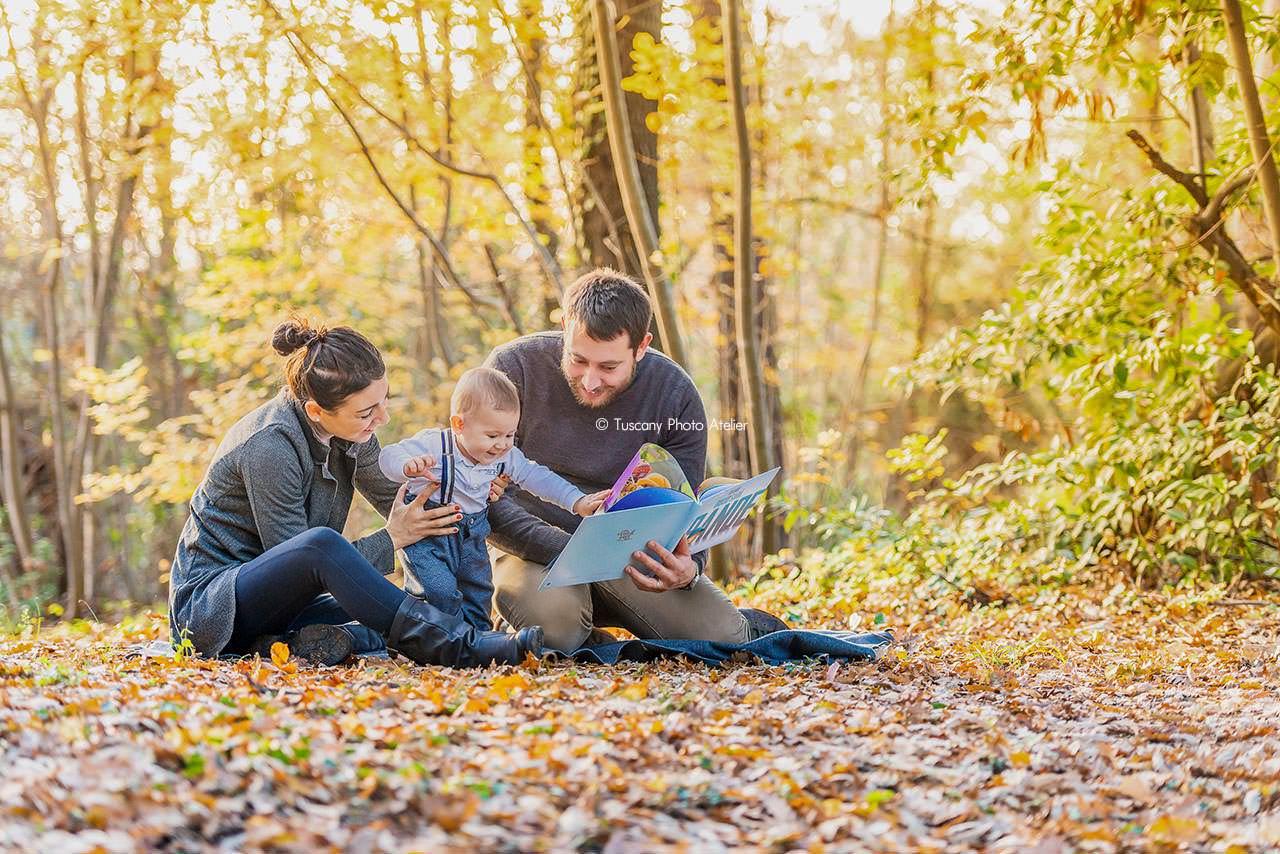 Book Fotografico per Famiglia a San Miniato