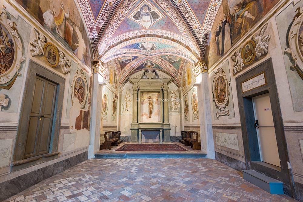 L'Oratorio di Sant'Urbano, Via Angelica, San Miniato