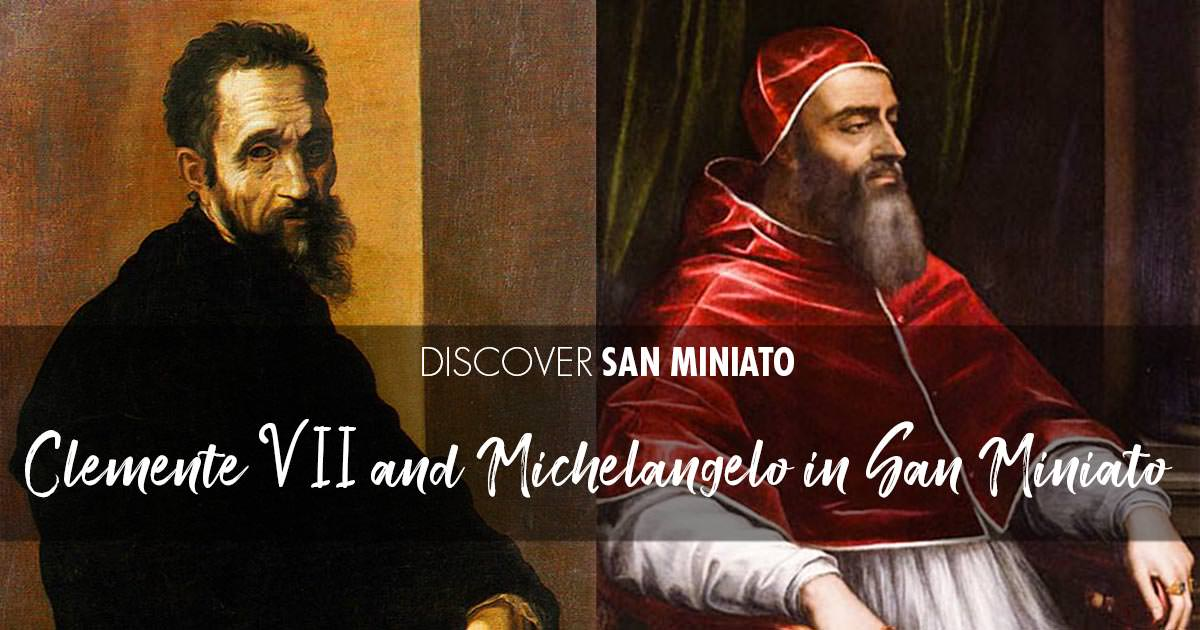 Clement VII and Michelangelo in San Miniato