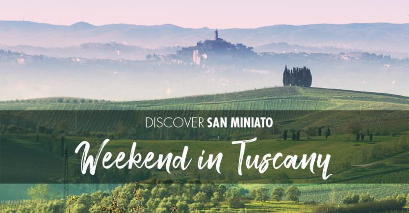 Weekend in Tuscany among medieval villages