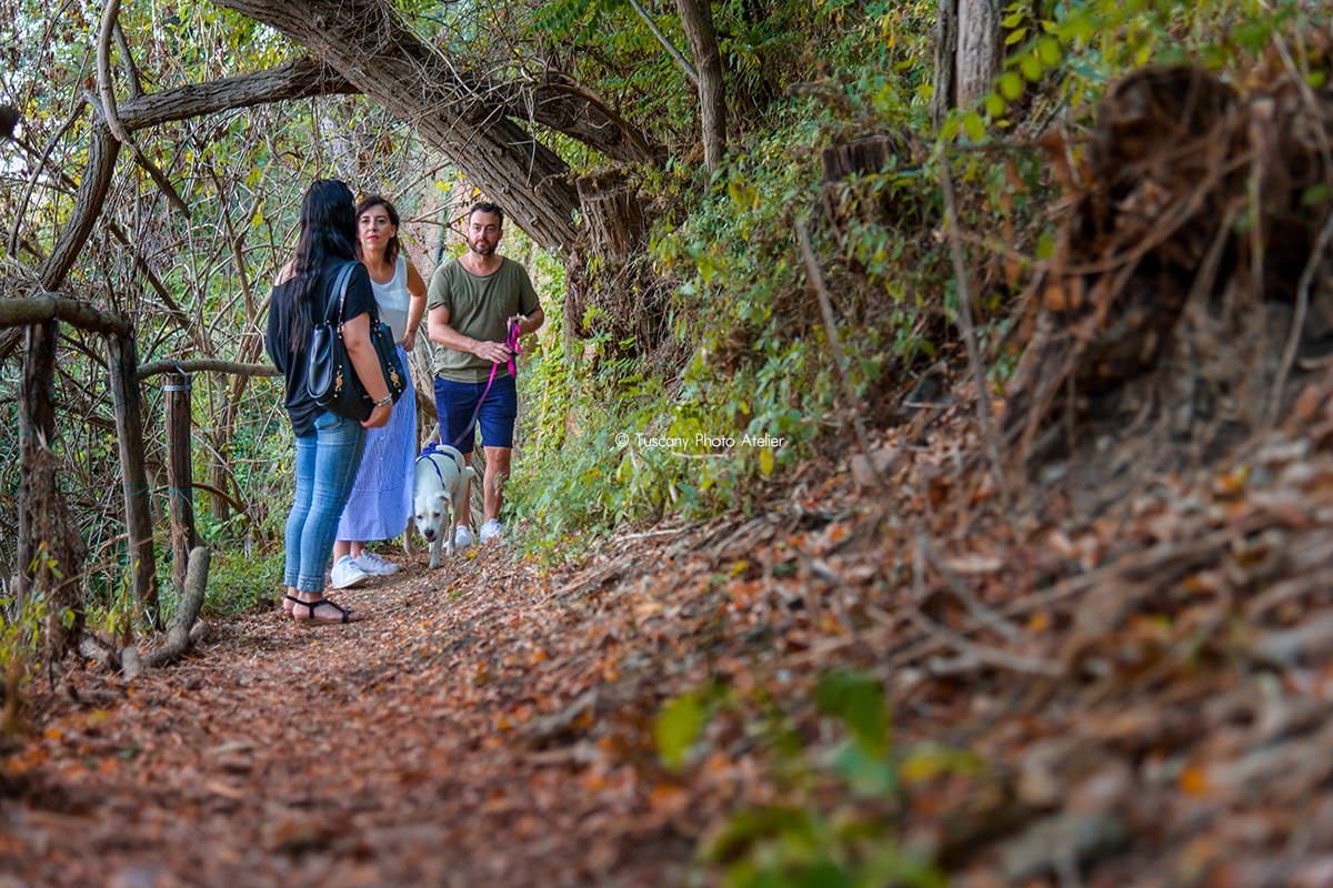 Passeggiata romantica con guida turistica a San Miniato in Toscana