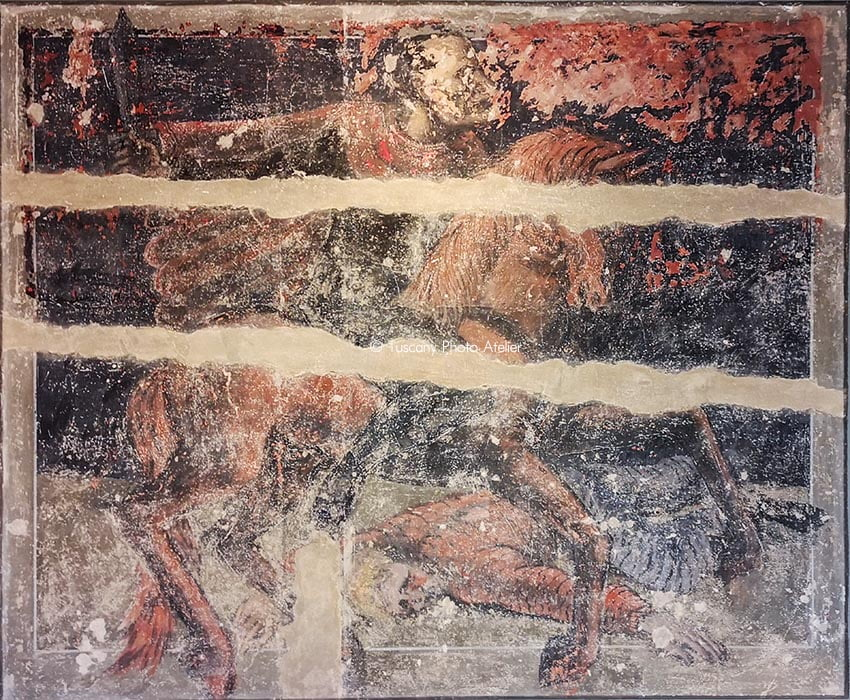 Duce Cavaliere - Fresco of Dilvo Lotti