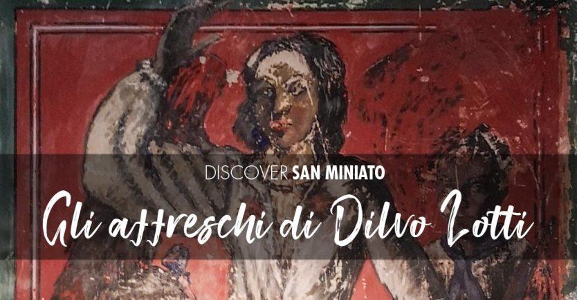 Gli affreschi di Dilvo Lotti nel Museo della Memoria a San Miniato