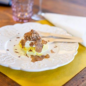 Piatto al tartufo bianco di San Miniato