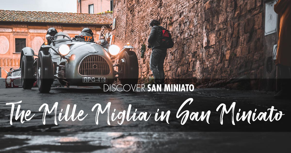The Mille Miglia in San Miniato