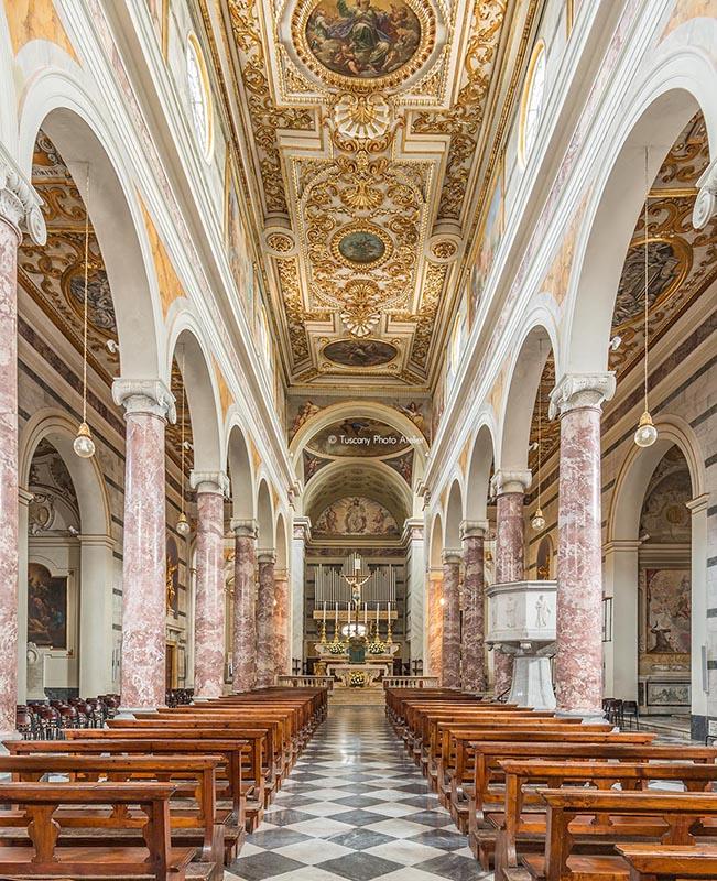 Tour inside the cathedral of Santa Maria Assunta and San Genesio in San Miniato