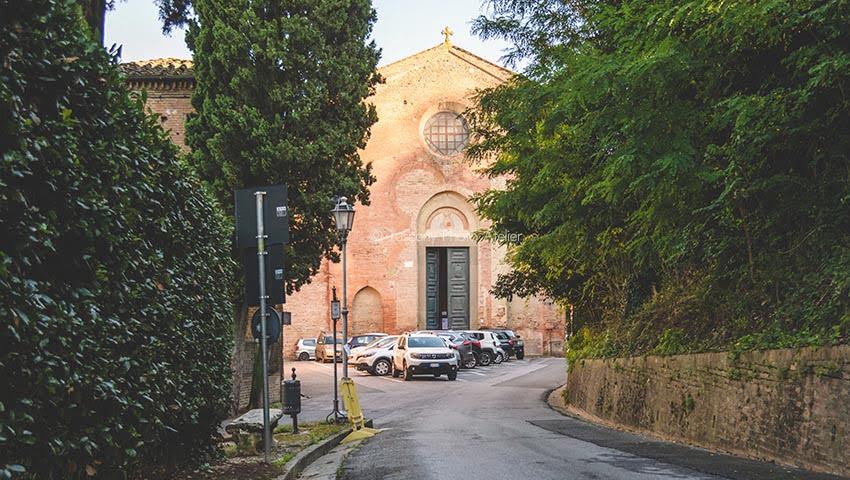 Via Francigena a San Miniato, Pisa, Toscana
