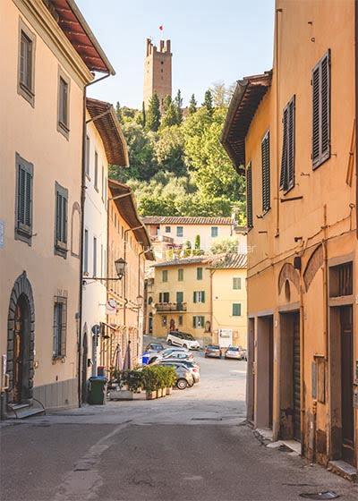 La Via Francigena a San Miniato