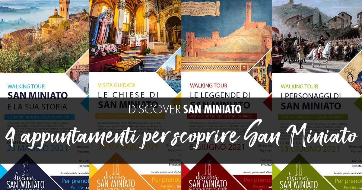 4 appoinments to Discover San Miniato